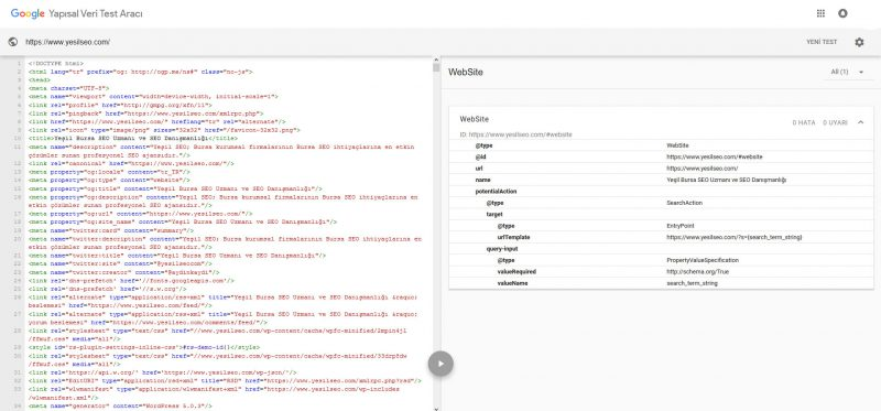 Google Search Console Rich Snippets Test Aracı Artık Kullanımda 2