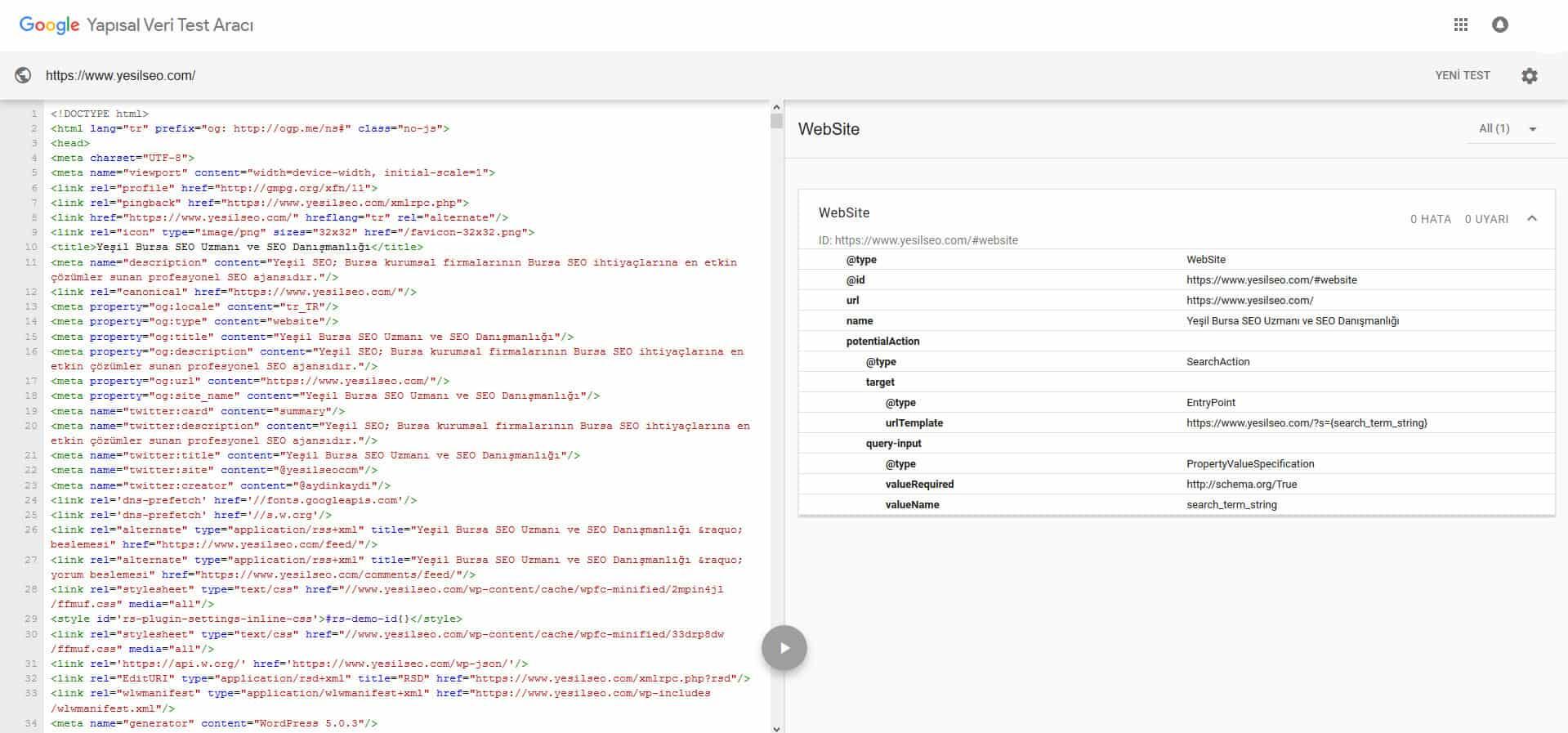 Google Search Console Rich Snippets Test Aracı Artık Kullanımda